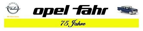 Logo opel fahr